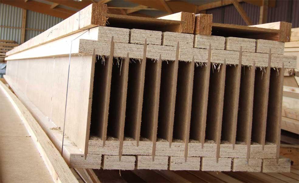 Produits poutres en i charpentes et syst mes constructifs for Poutre i bois prix